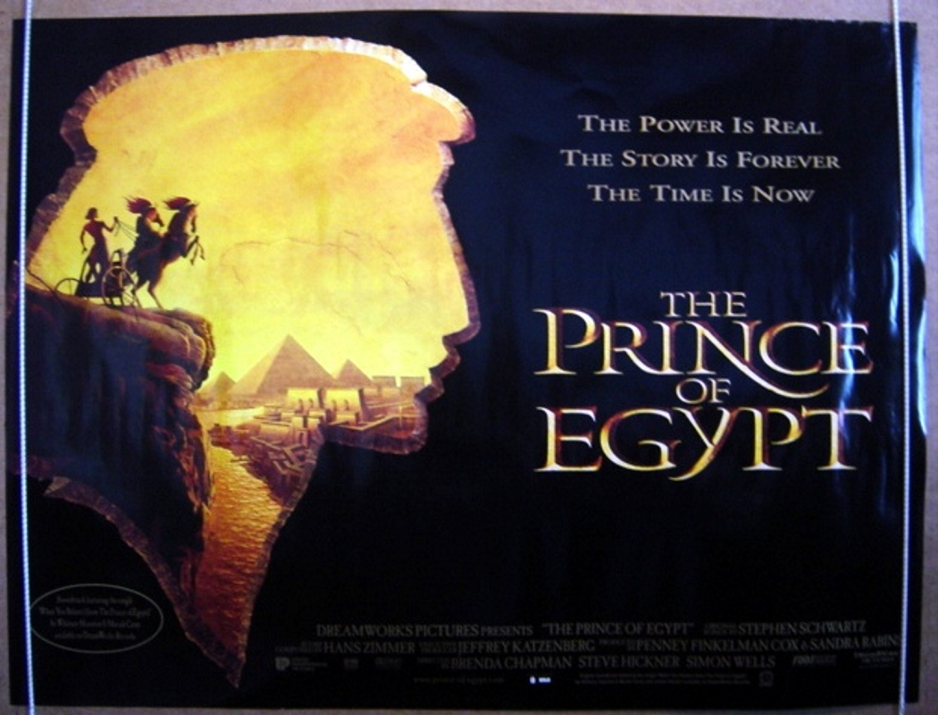 Prince Of Egypt (The) - Original Cinema Movie Poster From ...