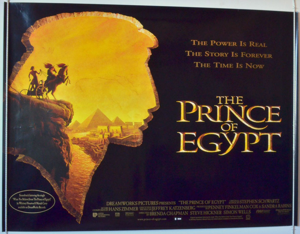 Prince Of Egypt (The) - Original Cinema Movie Poster From ... | 1050 x 821 jpeg 183kB