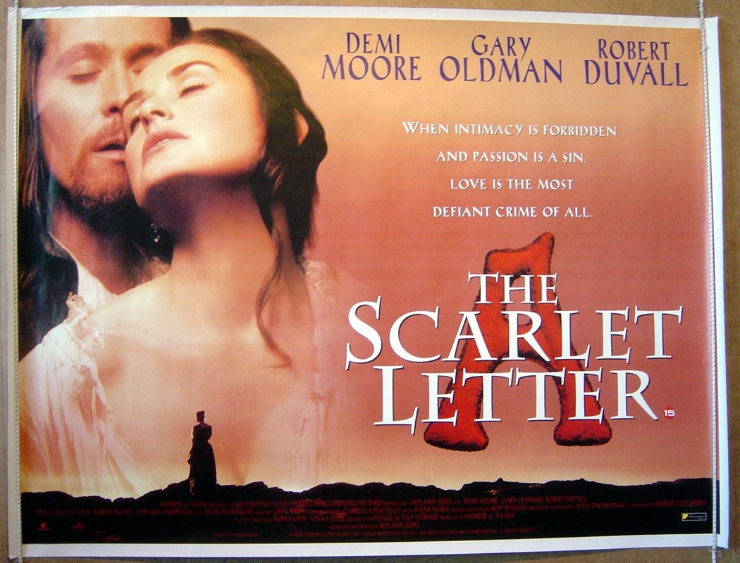 scarlet letter movie scarlet letter the original cinema poster from 12486 | (R) ScarletLetter(1)