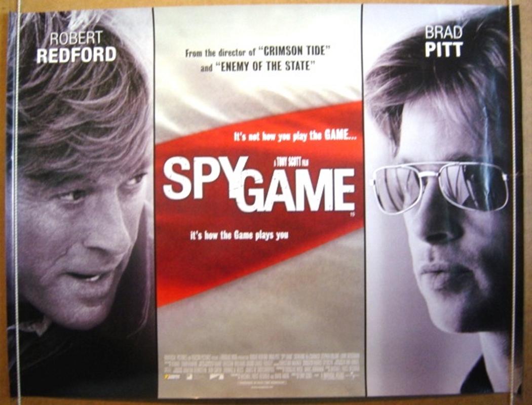 Spy Game - Original Cinema Movie Poster From pastposters.com ...