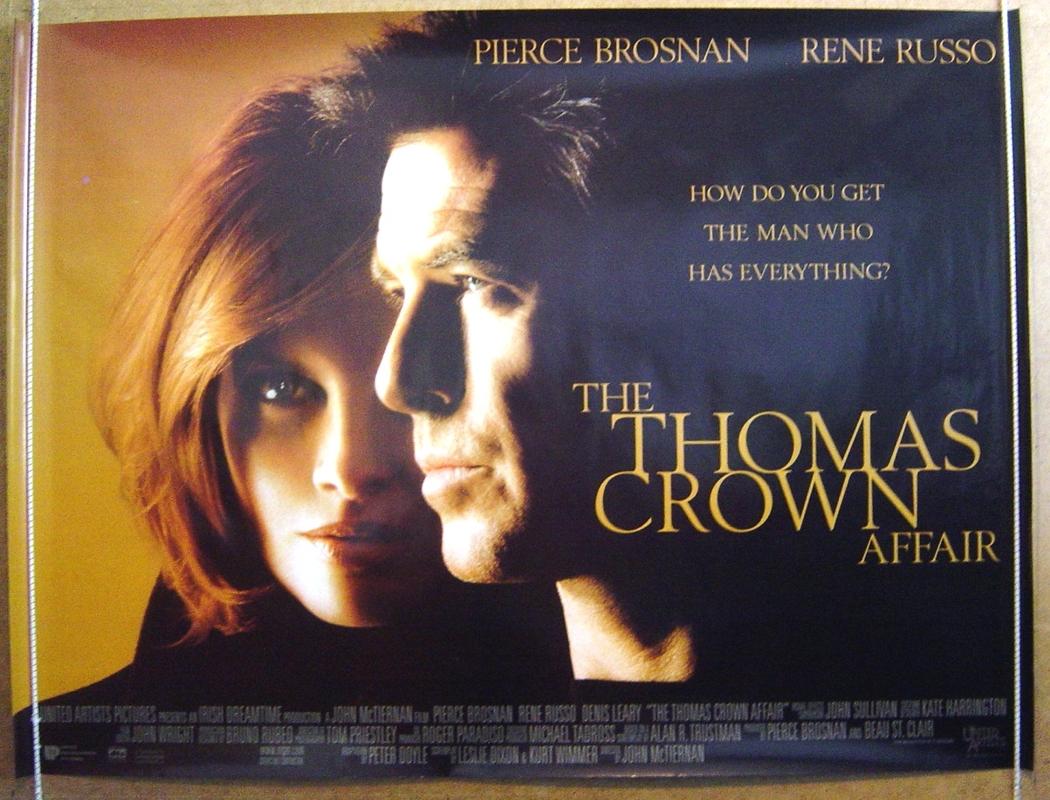 Thomas Crown Affair (The)<br>(Version 2) - Original Cinema Movie ...