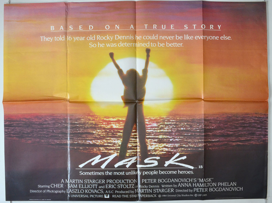 Mask - Original Cinema Movie Poster From pastposters.com British ...