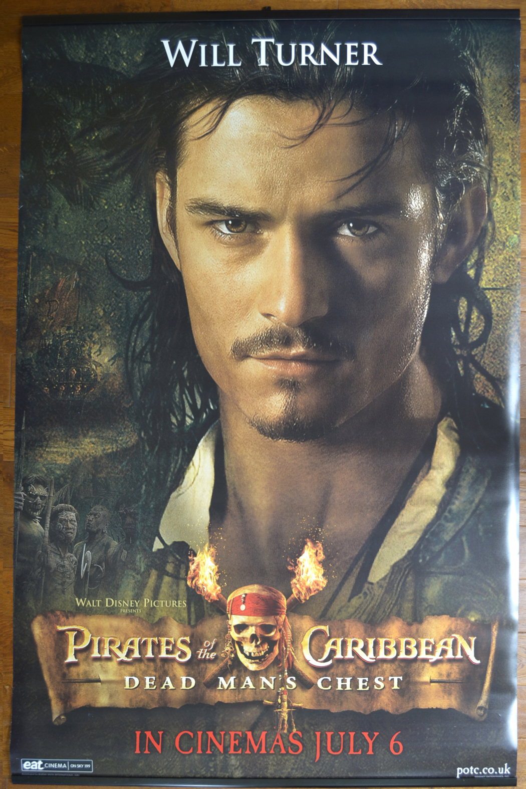 Pirates Of The Caribbean Dead Man S Chest Set Of Four
