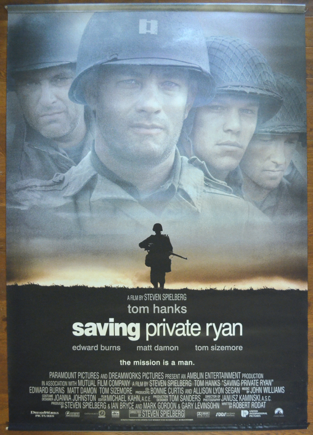Saving Private Ryan Cinema Banner Original Cinema