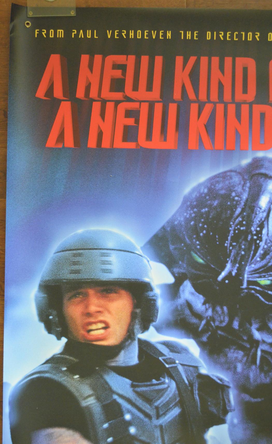 Starship Troopers (Cinema Banner) - Original Cinema Movie