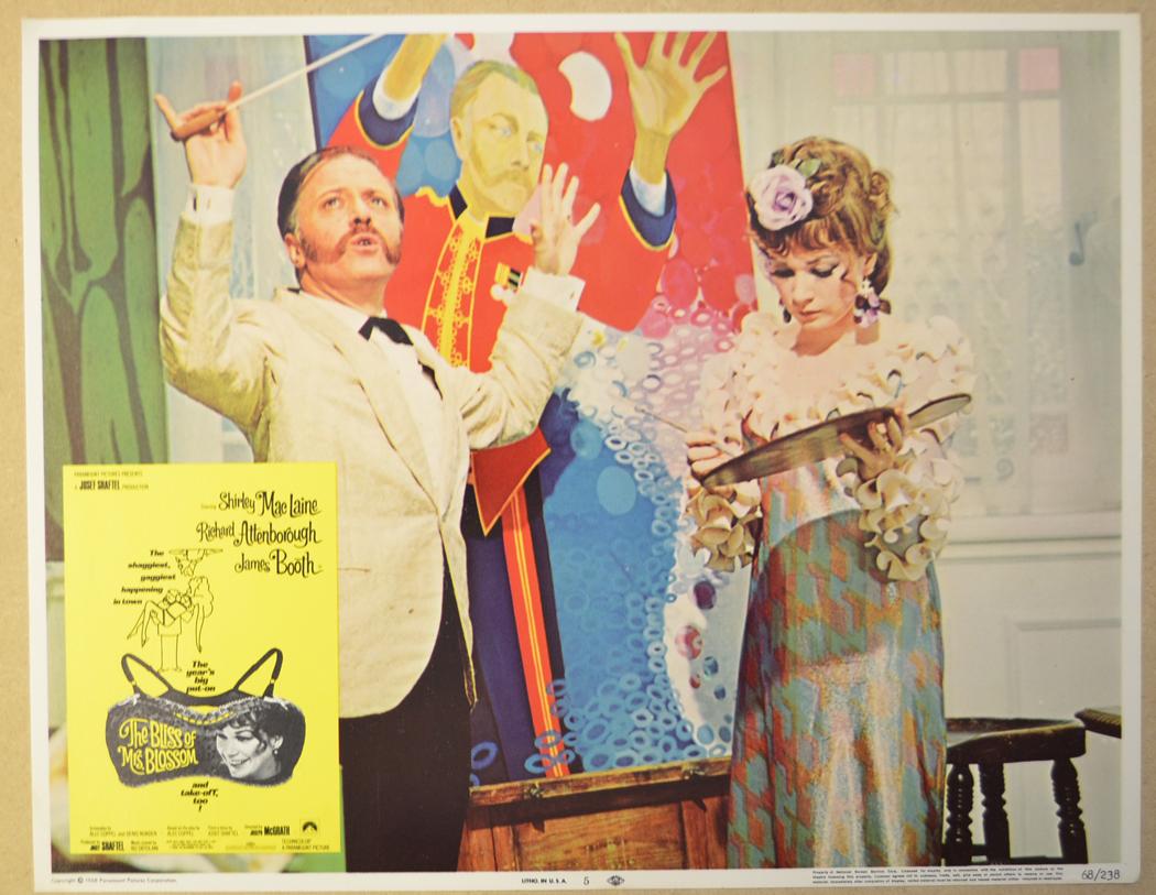 Bliss Of Mrs. Blossom (The) <p><i> Set Of 8 Cinema Lobby Cards </i ...
