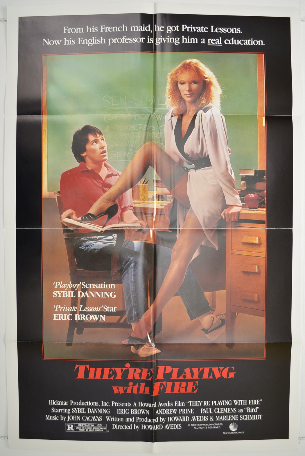 They Re Playing With Fire Original Cinema Movie Poster