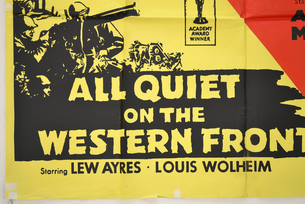 an analysis of all quiet on the western front a movie - all quiet on the western front erich maria remarque's all quiet on the western front is one of the greatest war novels of all time it is a story, not of germans, but of men, who even though they may have escaped shells, were destroyed by the war.