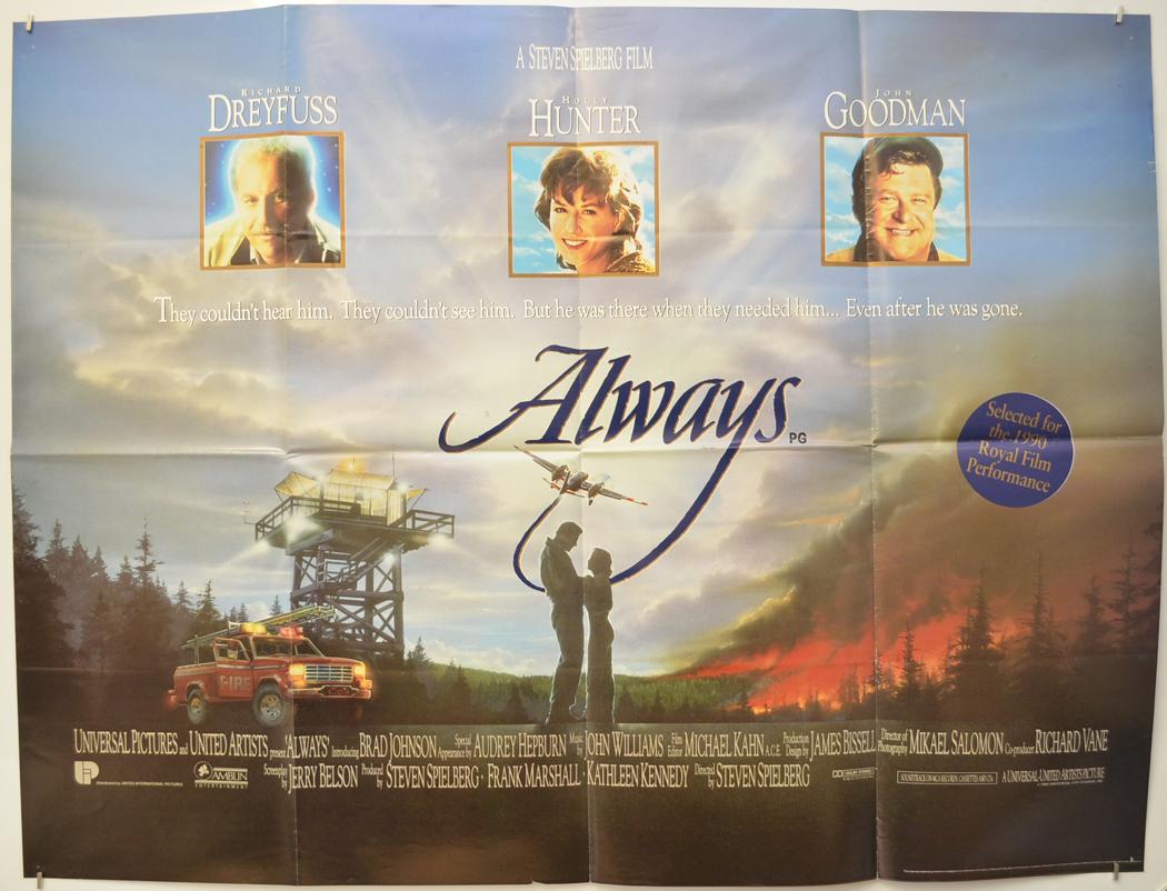 Always - Original Cinema Movie Poster From pastposters.com British ...