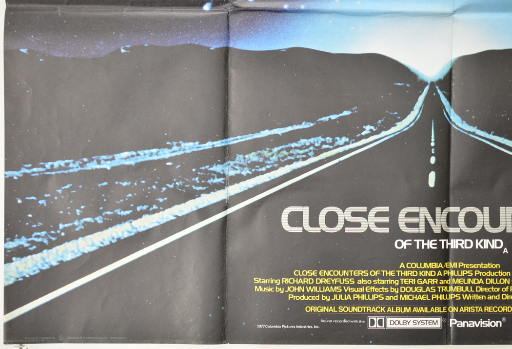 close encounters of the third kind movie poster 1977