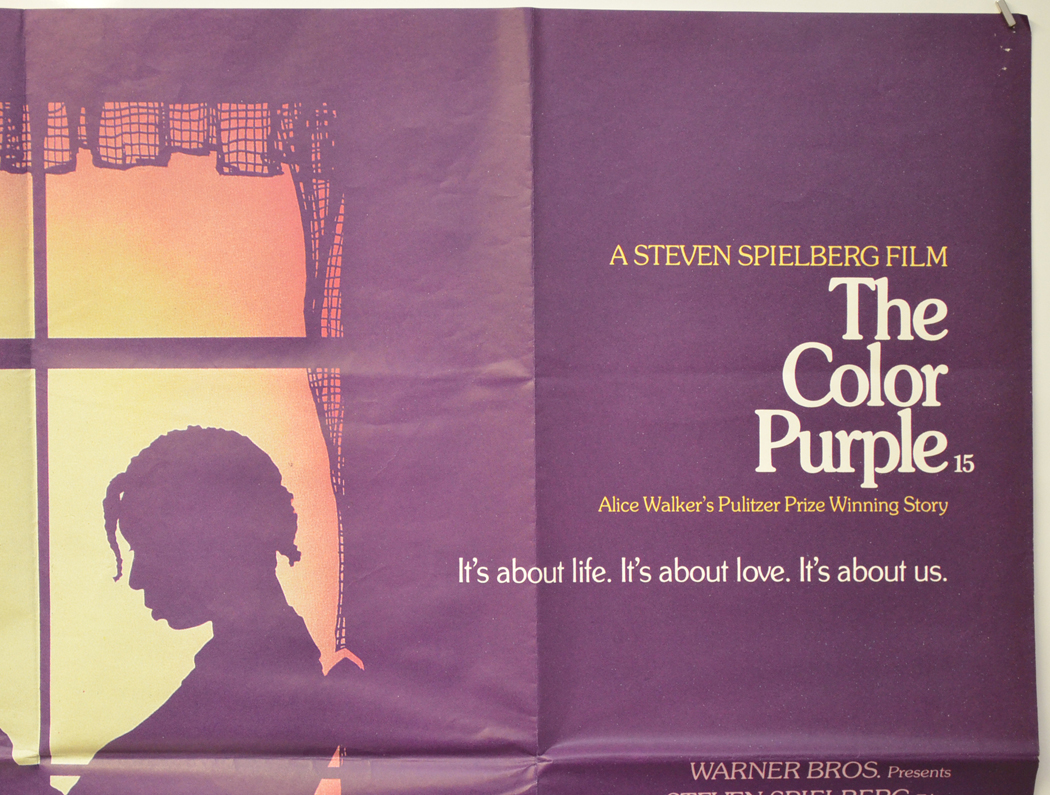Color Purple The Original Cinema Movie Poster From Pastposters