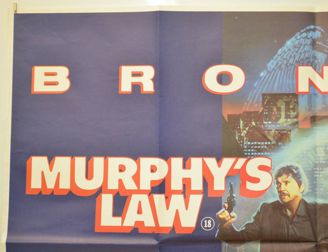 Murphy's Law - Original Cinema Movie Poster From pastposters