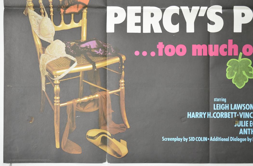 Percy S Progress Original Cinema Movie Poster From