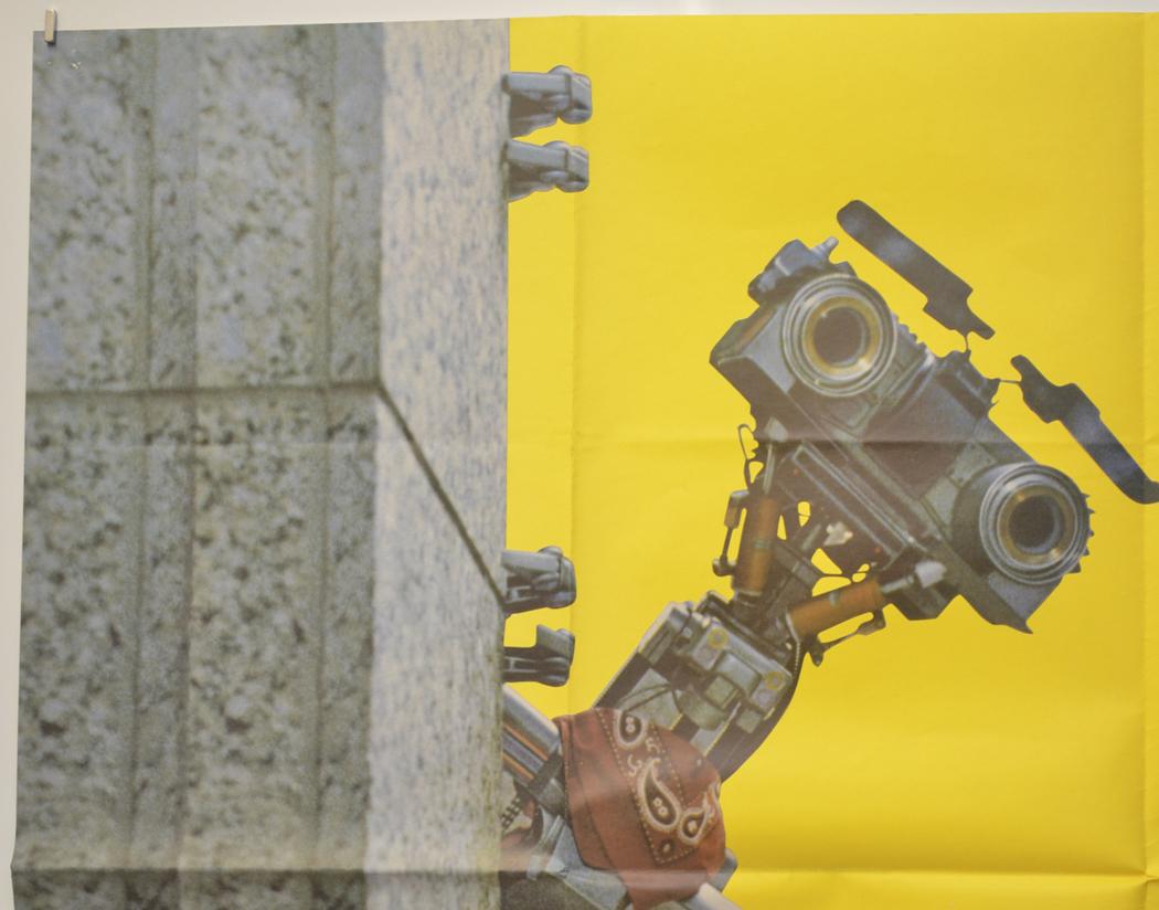 Short Circuit 2 Original Cinema Movie Poster From Shortcircuit2 Top Left Quad