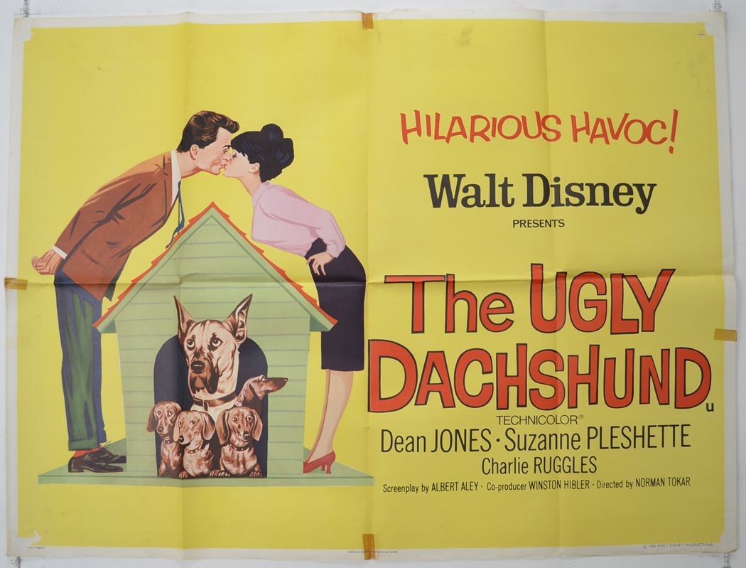 Ugly Dachshund (The) - Original Cinema Movie Poster From ...