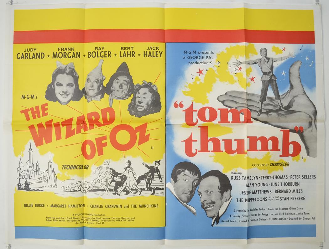 Wizard Of Oz (The) / Tom Thumb <p><i> (1964 Double Bill) </i