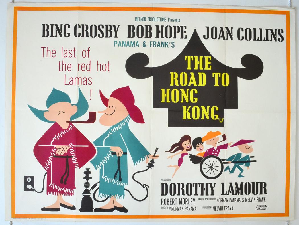 Road To Hong Kong (The) - Original Cinema Movie Poster ...