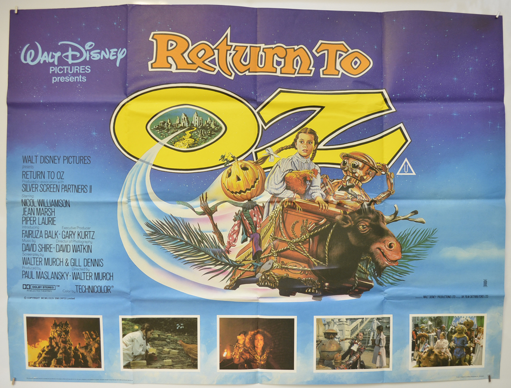 12 Fantastic Facts You Won't Believe About Return To Oz!