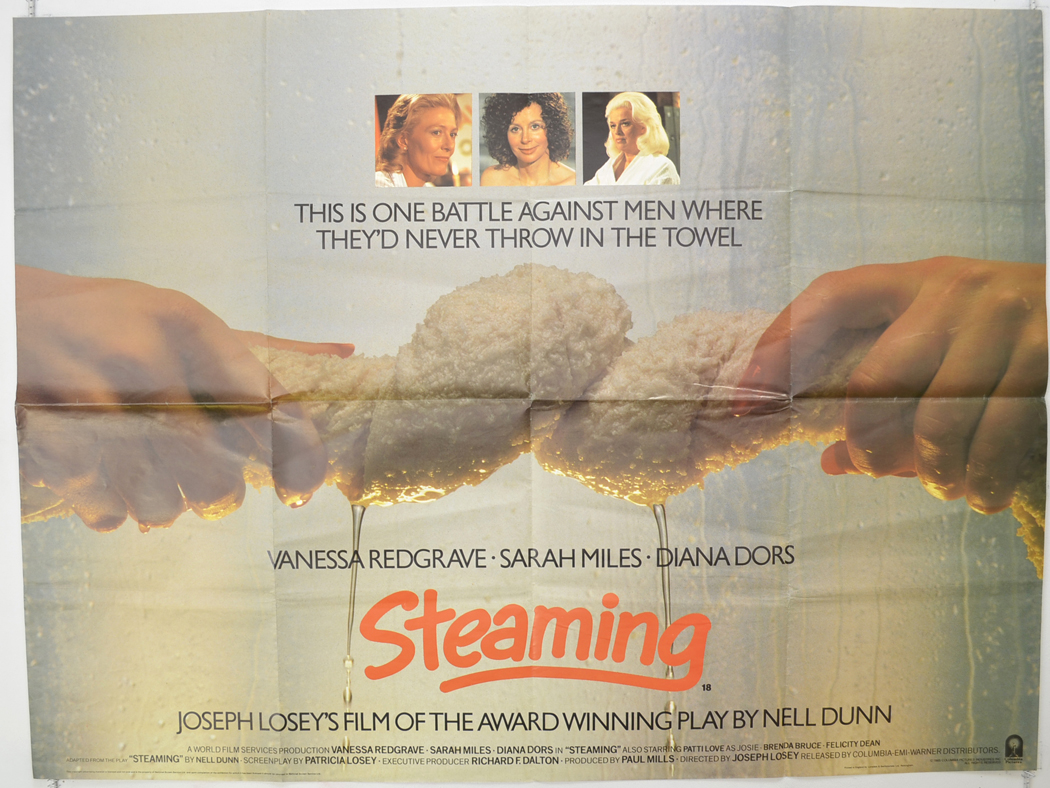 Steaming - Original Cinema Movie Poster From pastposters.com ...