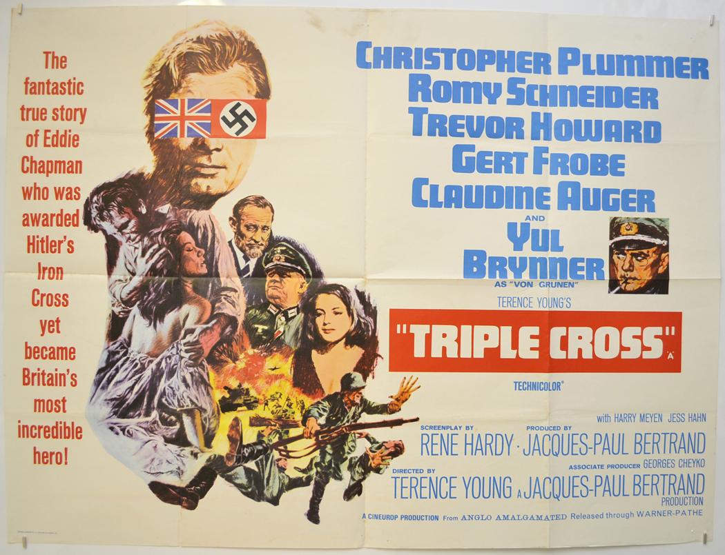 Triple Cross - Original Cinema Movie Poster From pastposters.com ...