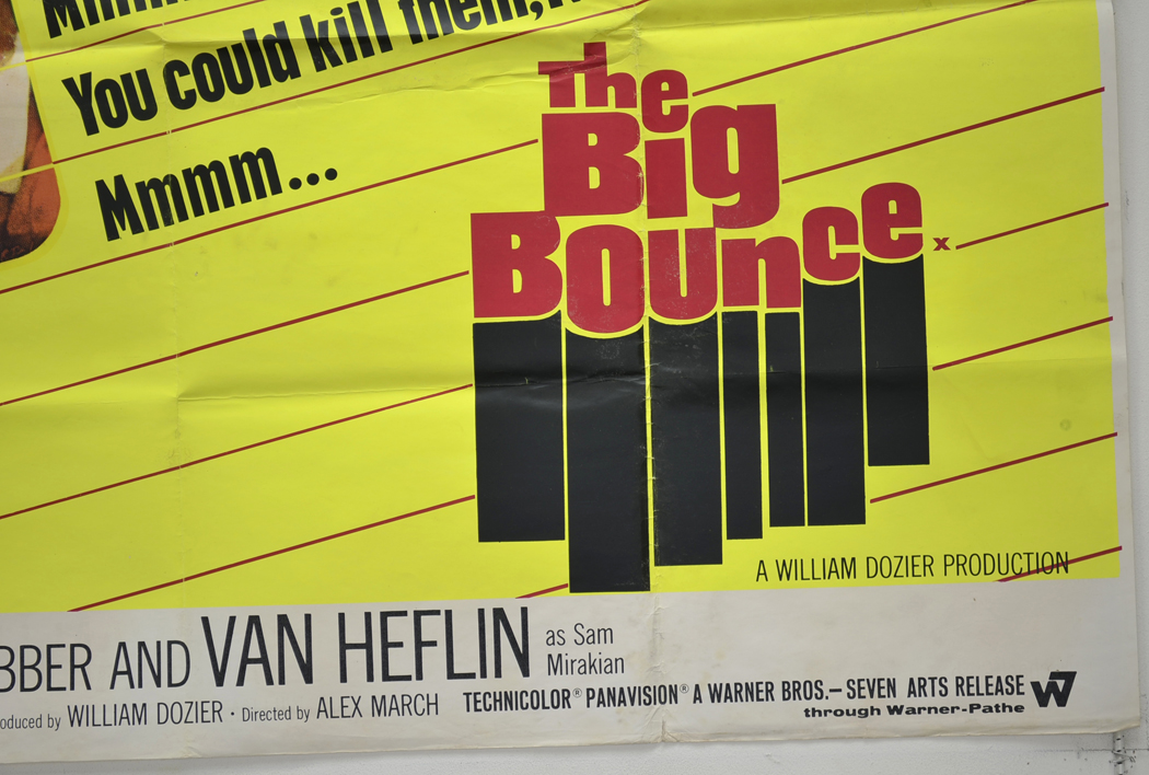 THE BIG BOUNCE Bottom Right Cinema Quad Movie Poster