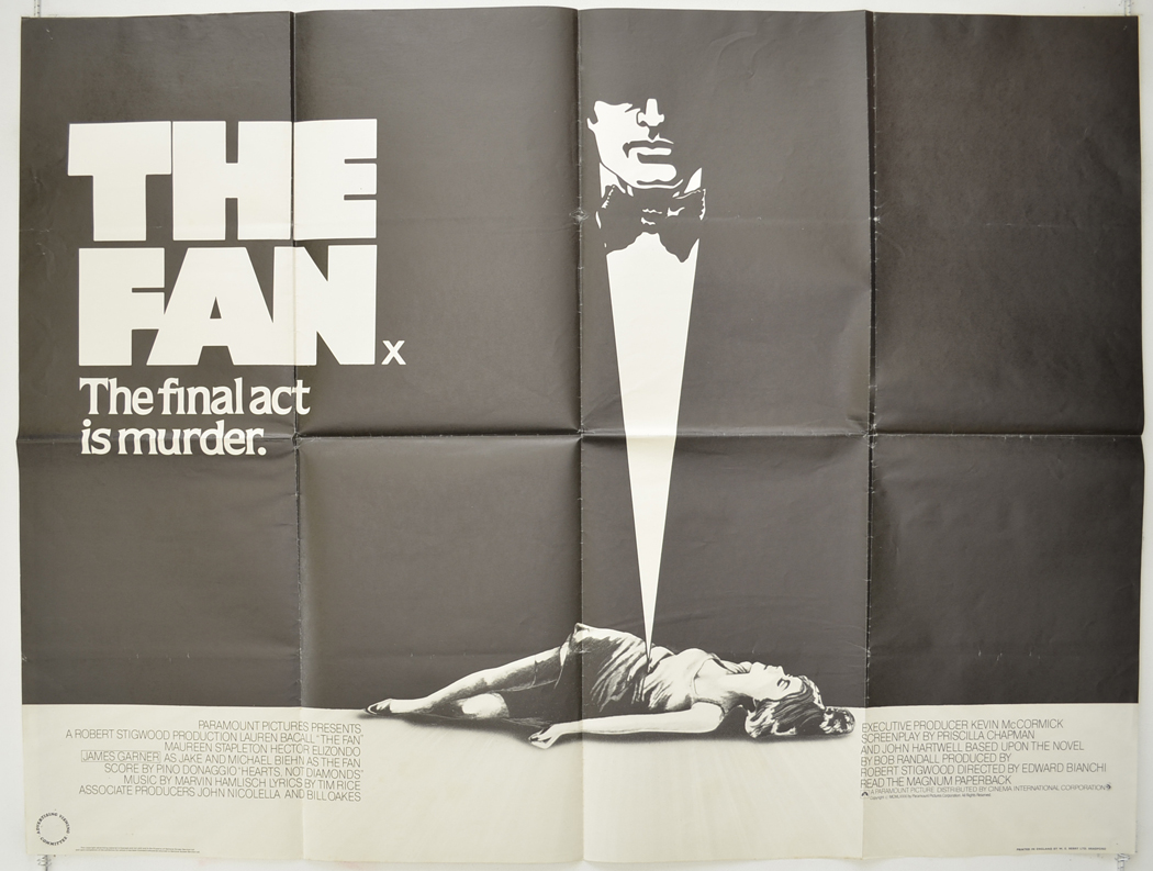 Fan (The) - Original Cinema Movie Poster From pastposters.com ...