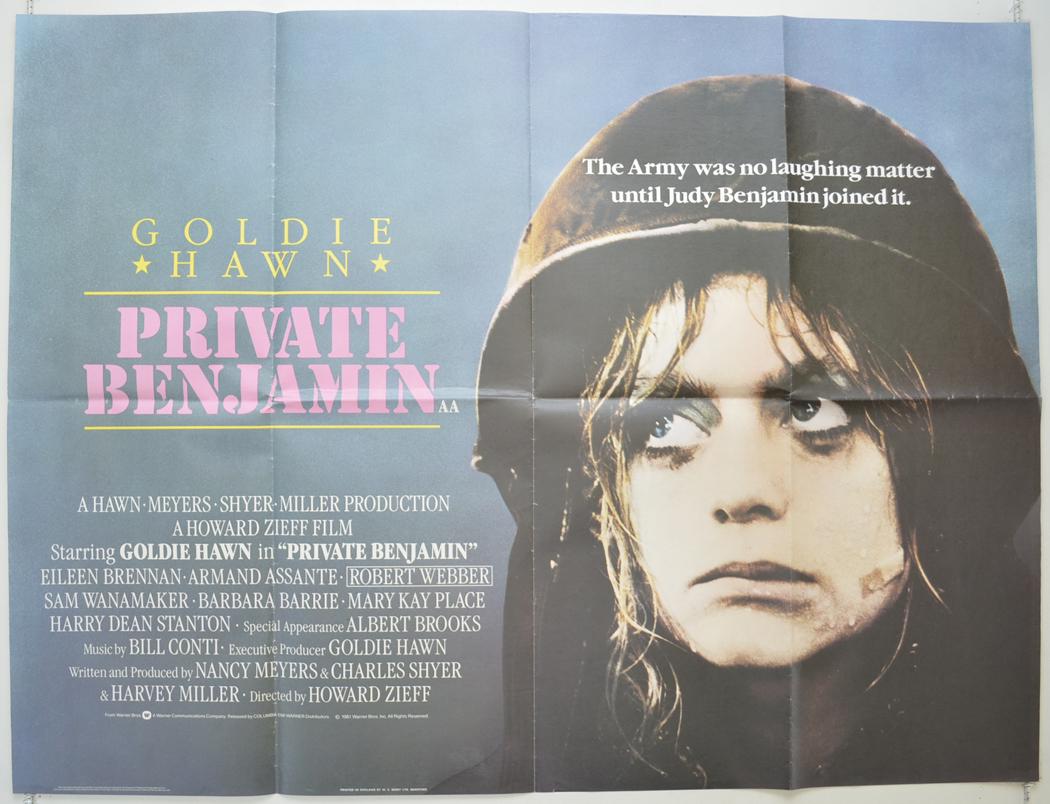 Private Benjamin - Original Cinema Movie Poster From pastposters ...