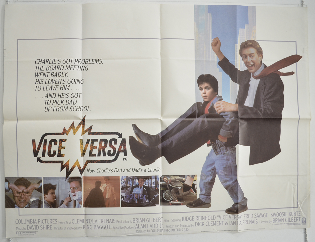 Vice Versa - Original Cinema Movie Poster From pastposters.com ...