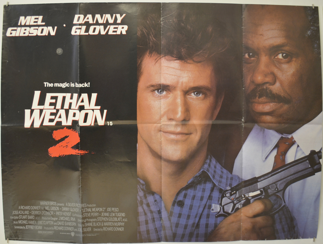Lethal Weapon 2 - Original Cinema Movie Poster From pastposters ...