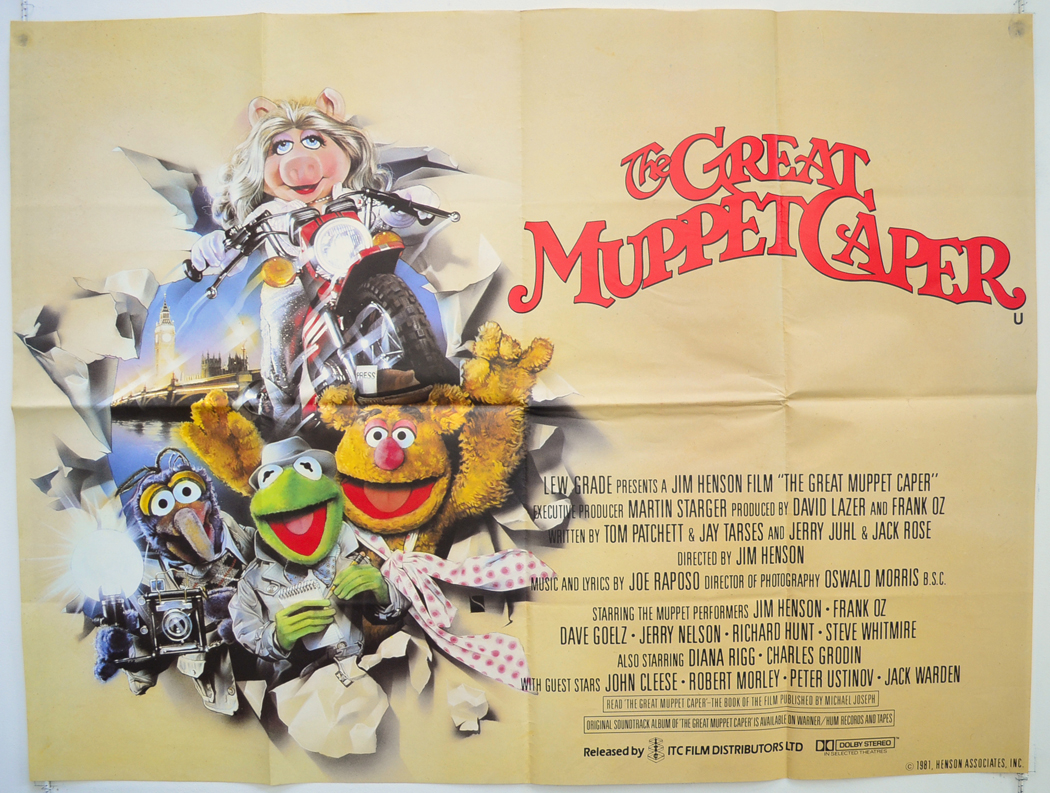 Great Muppet Caper (The) - Original Cinema Movie Poster From ...