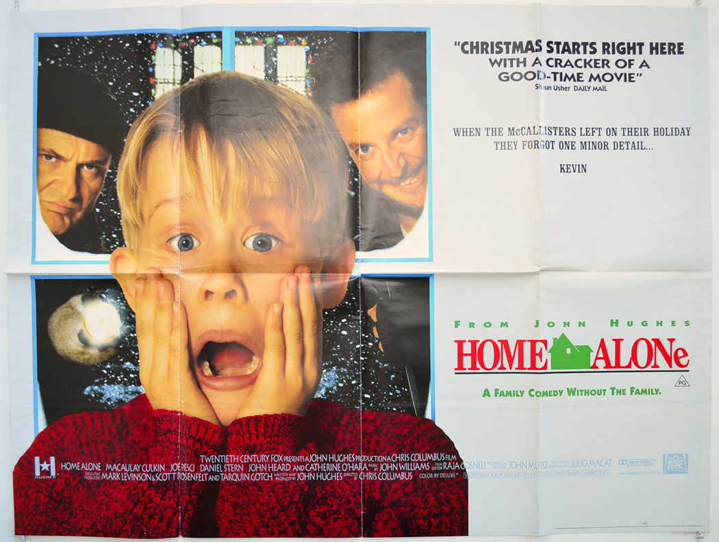 Home Alone - Original Cinema Movie Poster From pastposters.com ...