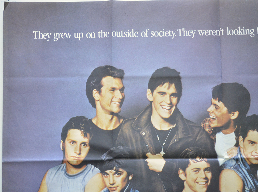 a synopsis of the film the outsiders directed by francis ford coppola in 1980 The book and the movie of the outsiders are two very different stories  the film adaptation, directed by andrew davis,  francis ford coppola,.
