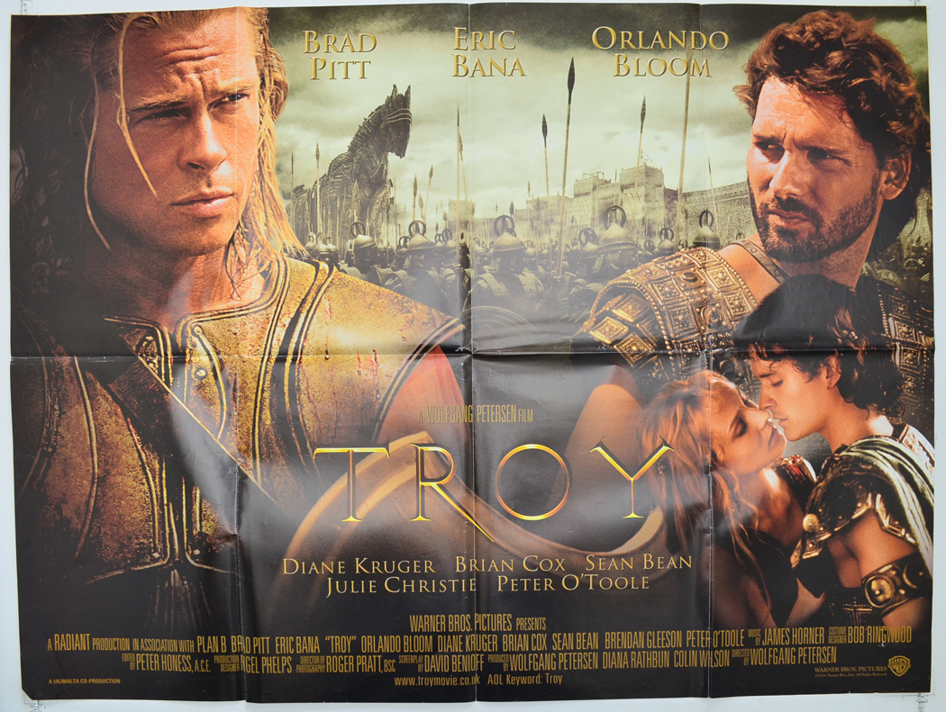 Toys For Troy : Troy original cinema movie poster from pastposters