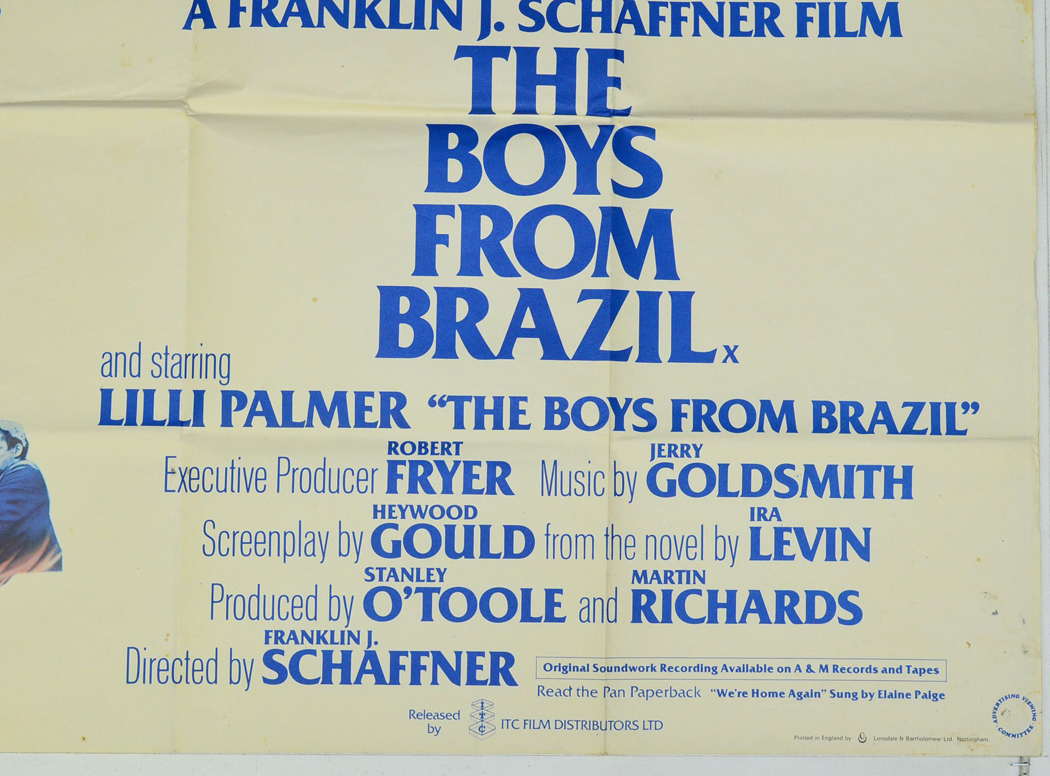 analysis of the film the boys from brazil directed by franklin j schaffner Popular reviews more travis lytle review by travis lytle 3 franklin j  schaffner's the boys from brazil may never play things straight enough to   the film follows olivier's ezra lieberman as he sets out on mengele's trail and.