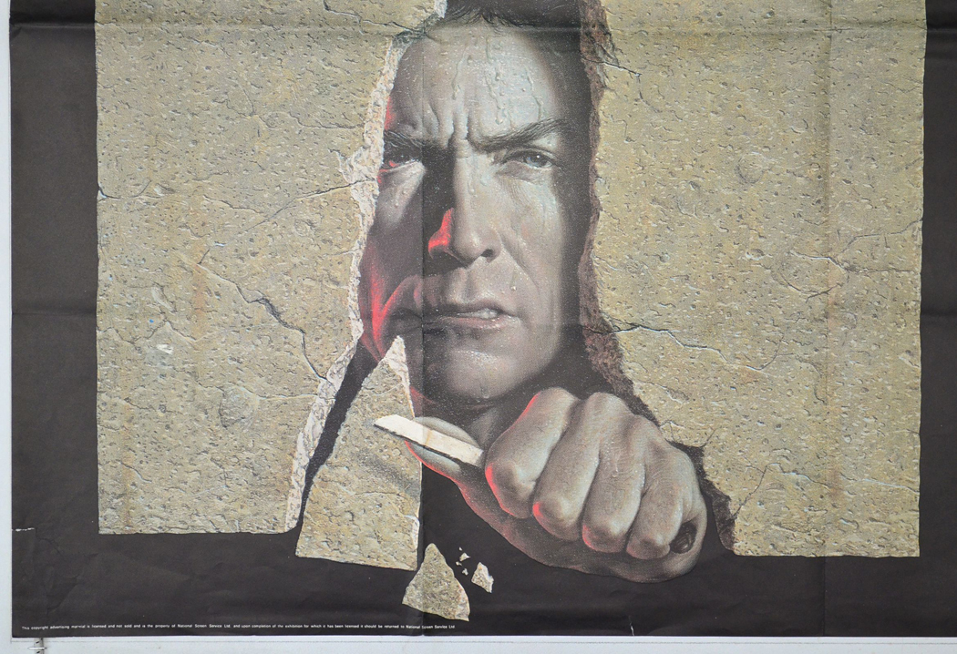escape from alcatraz original cinema movie poster from