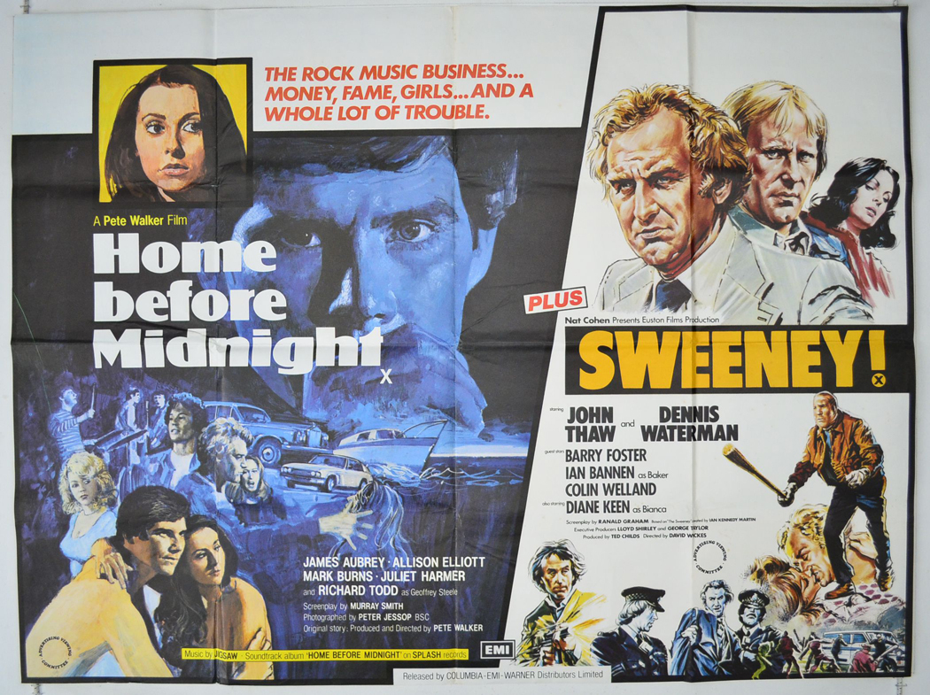 Alison Elliott Home Before Midnight home before midnight / the sweeney <p><i> (double bill) </i