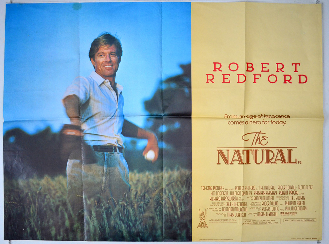 Natural (The) - Original Cinema Movie Poster From pastposters.com ...