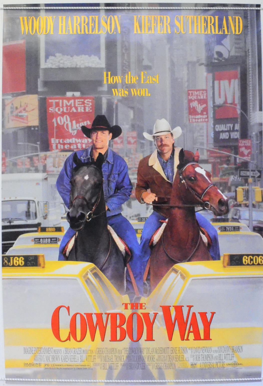 Cowboy Way (The) - Original Cinema Movie Poster From ...