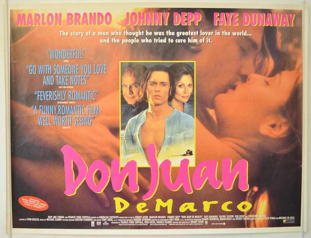 Don Jaun De Marco - Original Cinema Movie Poster From pastposters ...