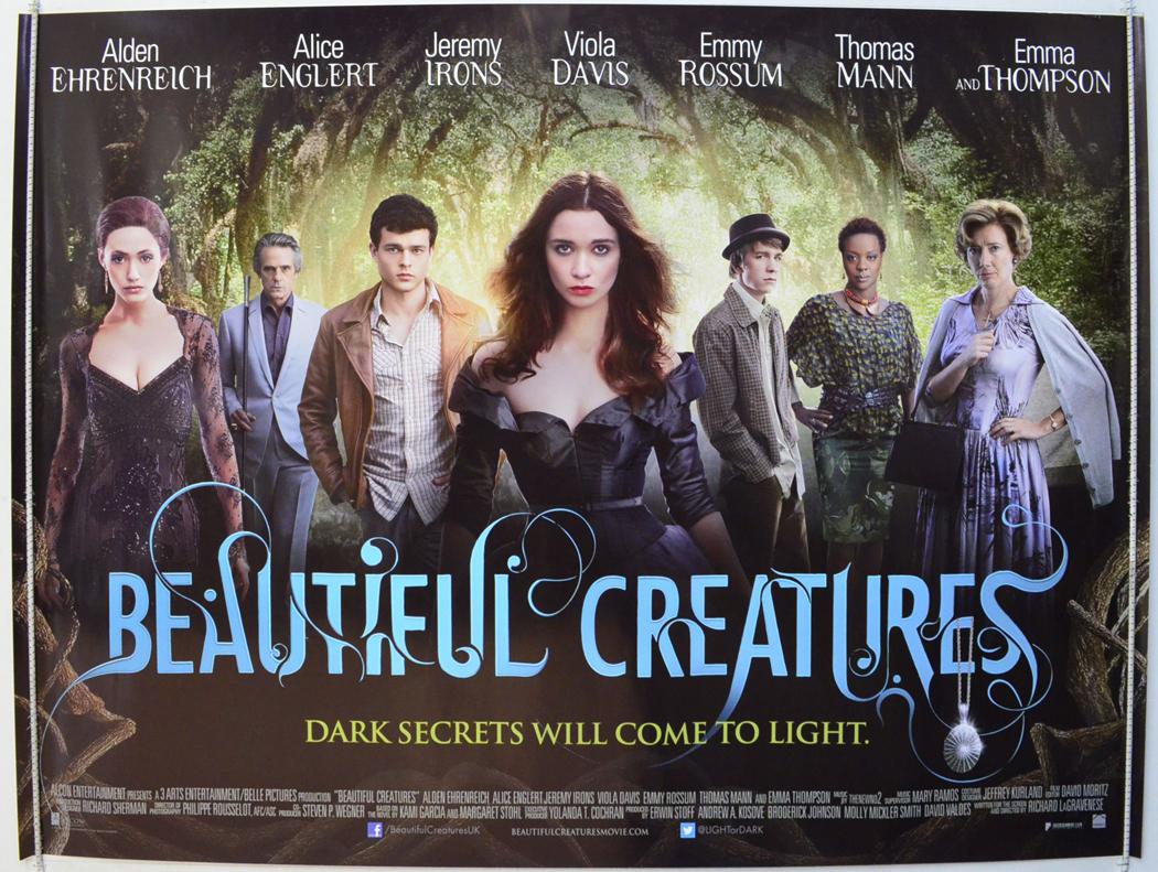Beautiful Creatures - Original Cinema Movie Poster From ...