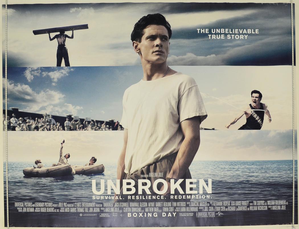 Unbroken - Original Cinema Movie Poster From pastposters ...