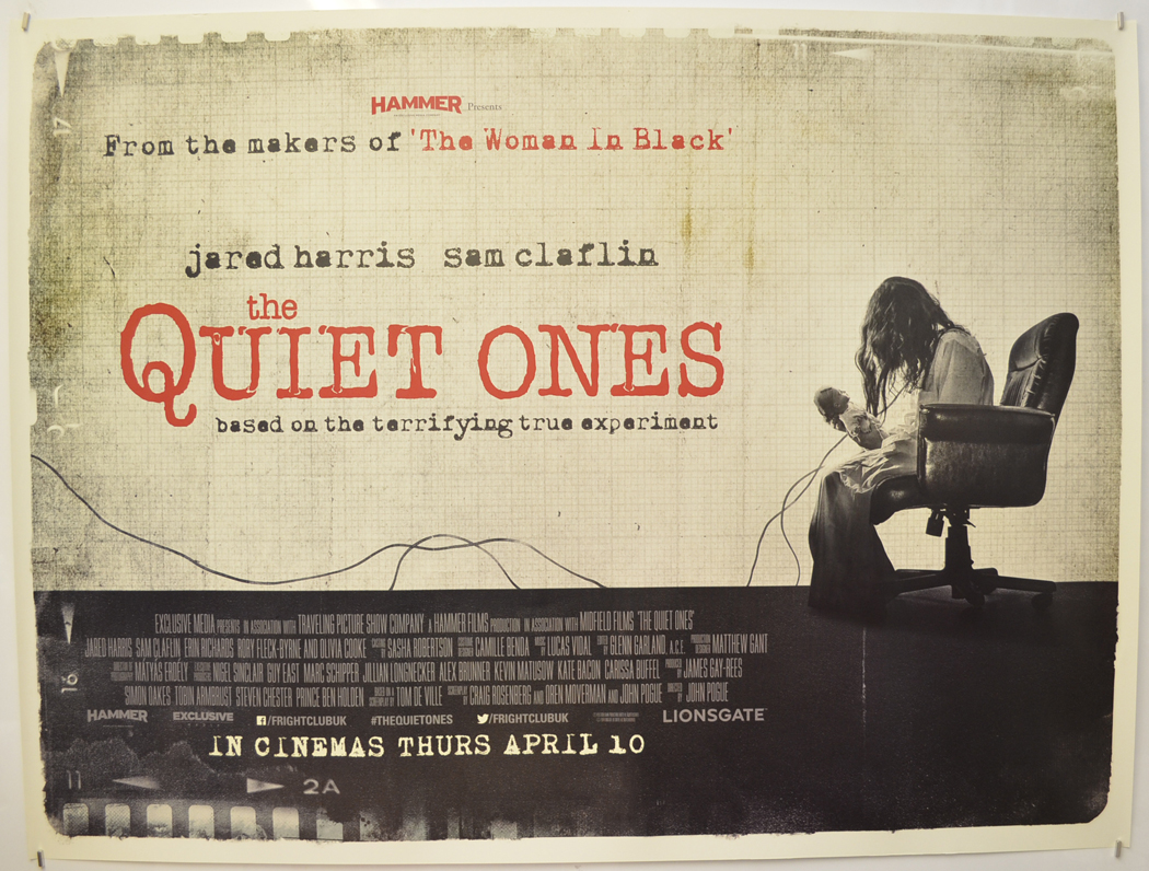 This image has an empty alt attribute; its file name is quiet-ones-cinema-quad-movie-poster-(grey-vers-1).jpg