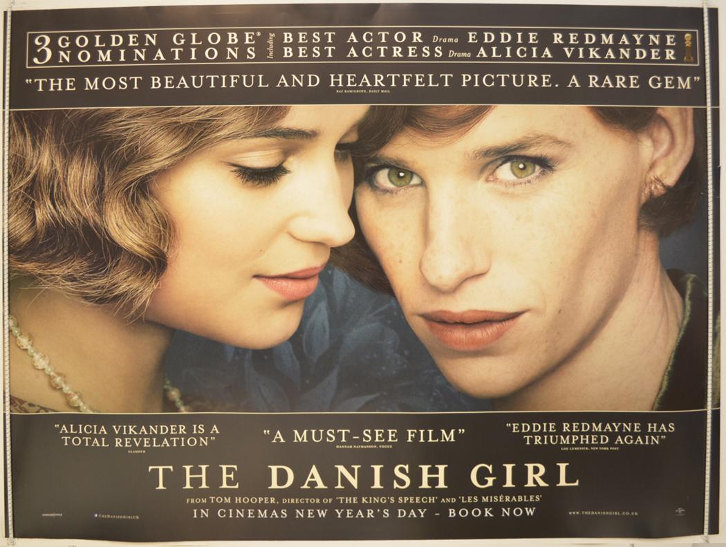 Danish Girl (The) - Original Cinema Movie Poster From pastposters ...