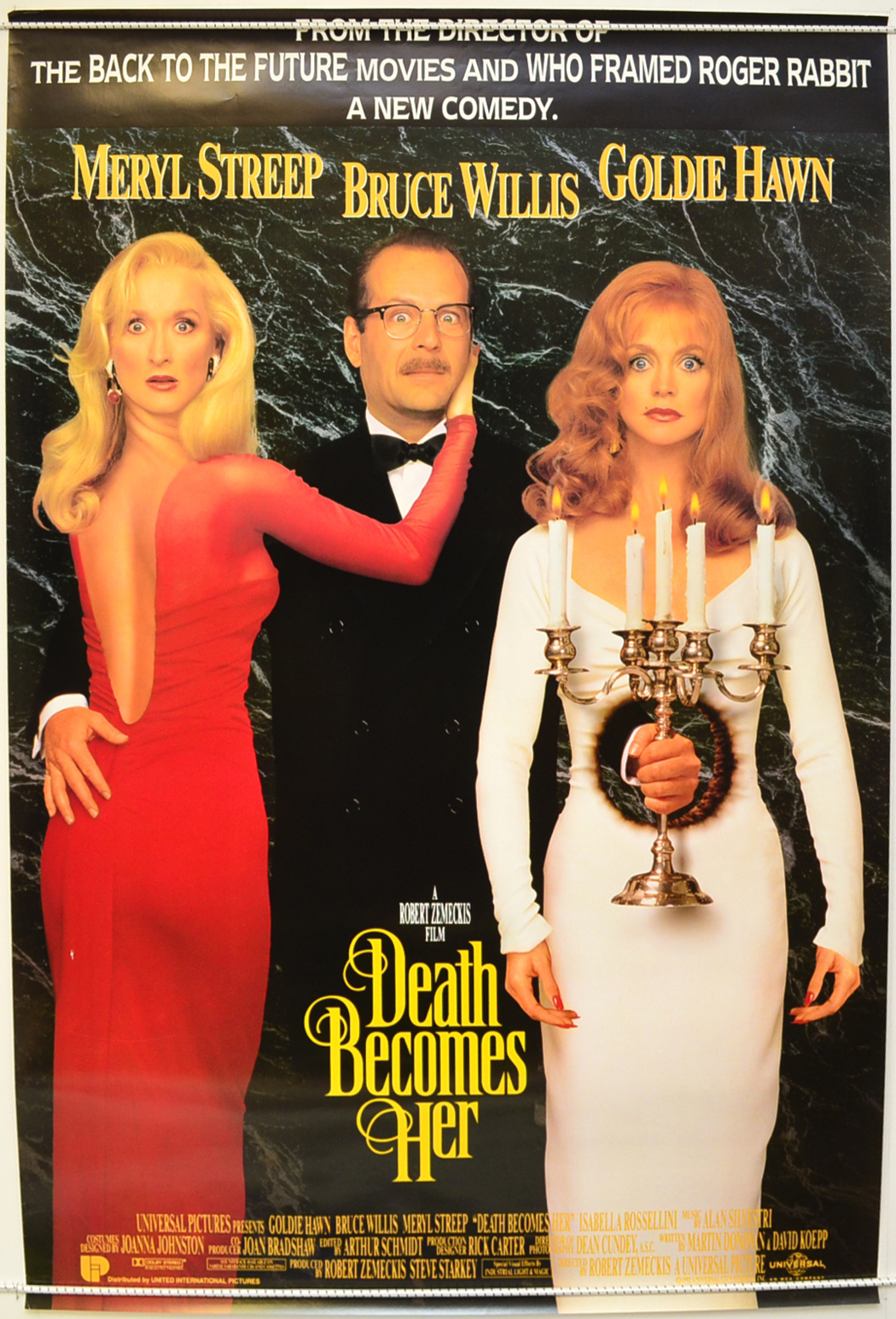 Death Becomes Her - Original Cinema Movie Poster From ...