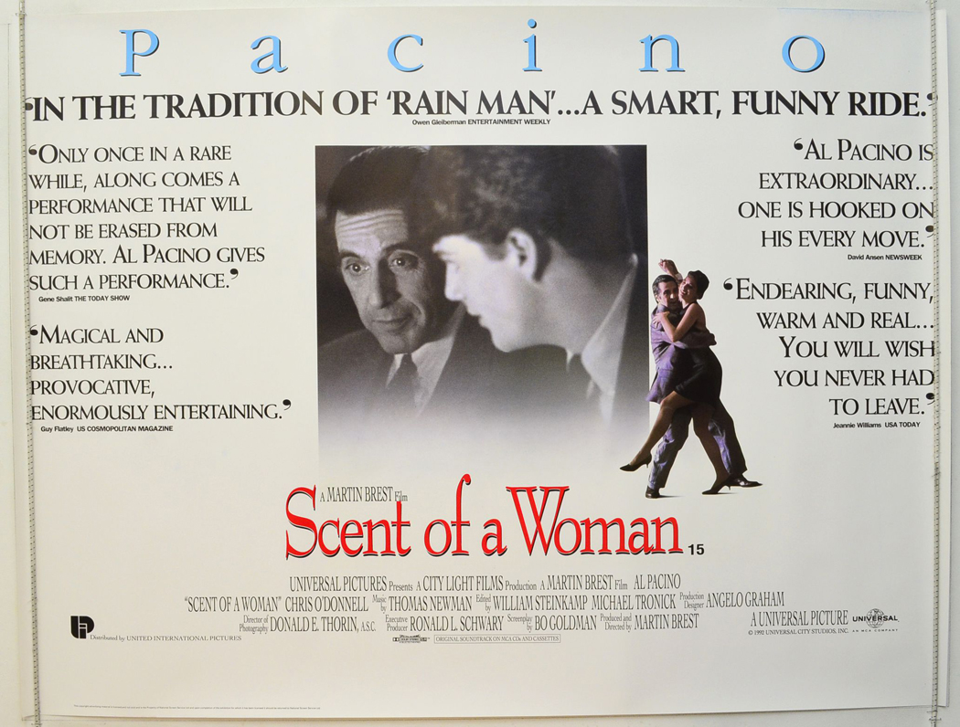 Scent Of A Woman The Pi Quotes Version Ip Original
