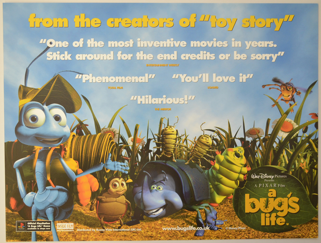It is an image of Priceless A Bug's Life Poster