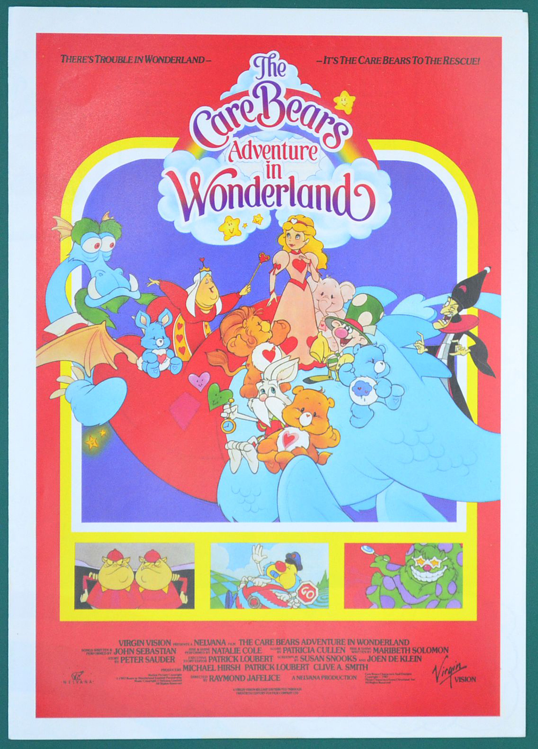 care bears  the    adventures in wonderland original