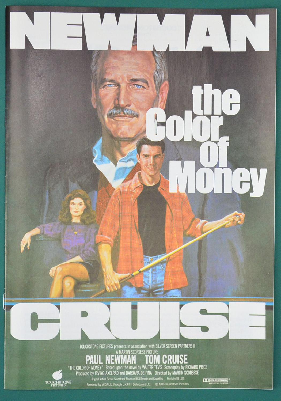 Color Of Money (The) <p><i> Original 8 Page Cinema Exhibitor\'s ...
