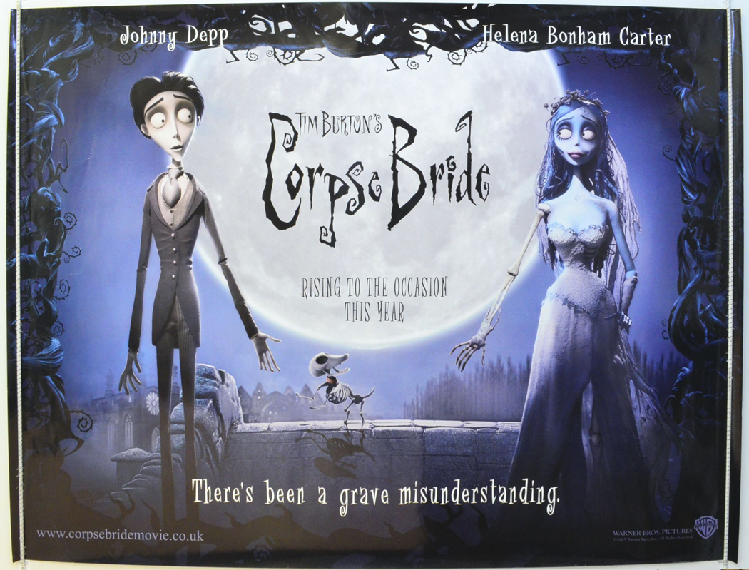 Corpse Bride - Original Cinema Movie Poster From pastposters.com ...