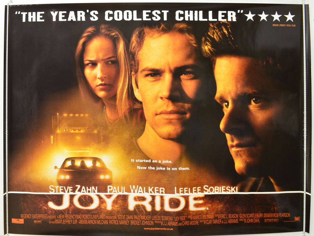 Joy Ride <p><i> (a.k.a. Road Kill) </i></p> - Original Cinema ...